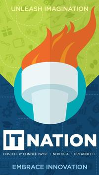 IT Nation 2014 poster