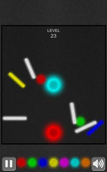 Neon ball to the basket apk screenshot