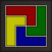 Four Color Shape Puzzle icon