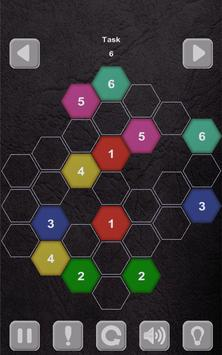 Color Lines. Hexagon screenshot 11