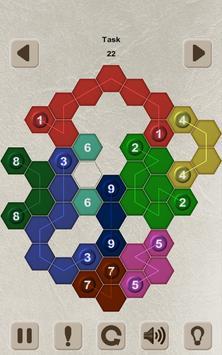 Color Lines. Hexagon screenshot 13