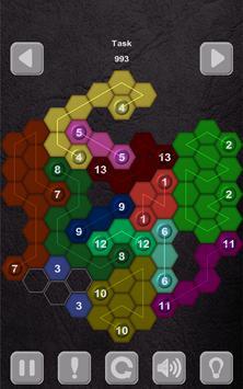 Color Lines. Hexagon screenshot 31