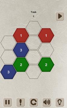 Color Lines. Hexagon screenshot 9