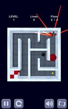 Ice cube. Labyrinth 3D apk screenshot