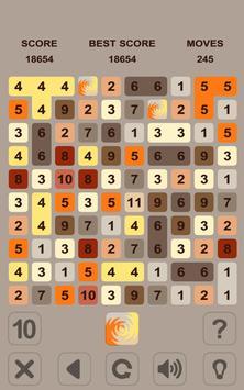 Numbers Puzzle. Get 10 screenshot 7