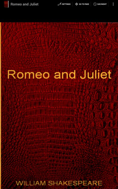 application of the theory of rasa in romeo and juliet