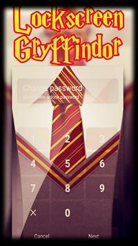 Lockscreen Gryffindor apk screenshot