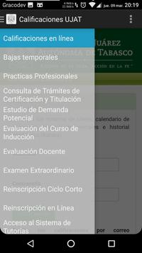 UJAT consulta calificaciones apk screenshot