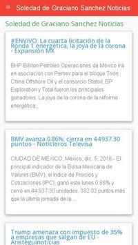 Noticias Soledad Graciano screenshot 1