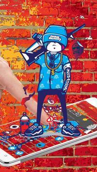 Graffiti Soldier Theme apk screenshot
