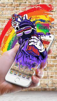 Graffiti Hip Hop Theme apk screenshot