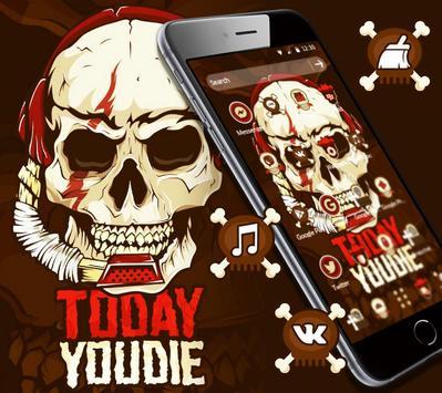 Music Fanaticism Graffiti Skull Theme screenshot 2