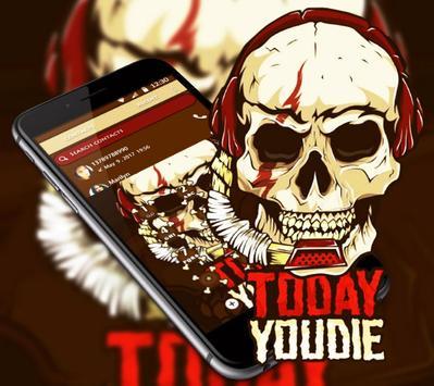 Music Fanaticism Graffiti Skull Theme screenshot 4