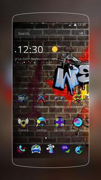 Graffti Punk Theme screenshot 4