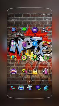 Graffti Punk Theme screenshot 1