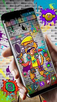 Graffiti Hiphop poster