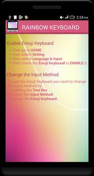 Rainbow Emoji Keyboard screenshot 14