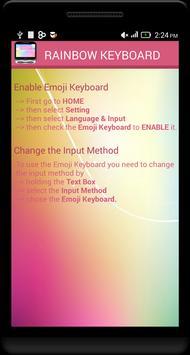 Rainbow Emoji Keyboard screenshot 9