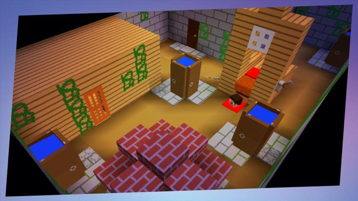 minecraft granny house map download