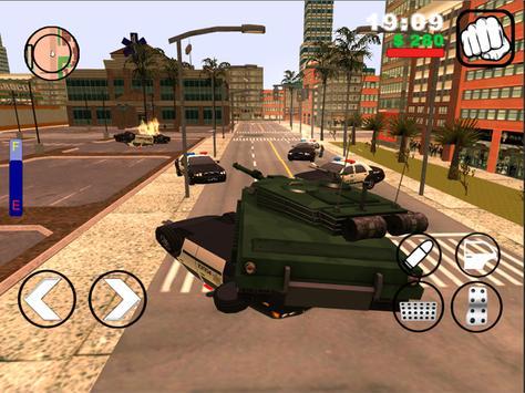 Grand gangs in Sun Andreas apk screenshot