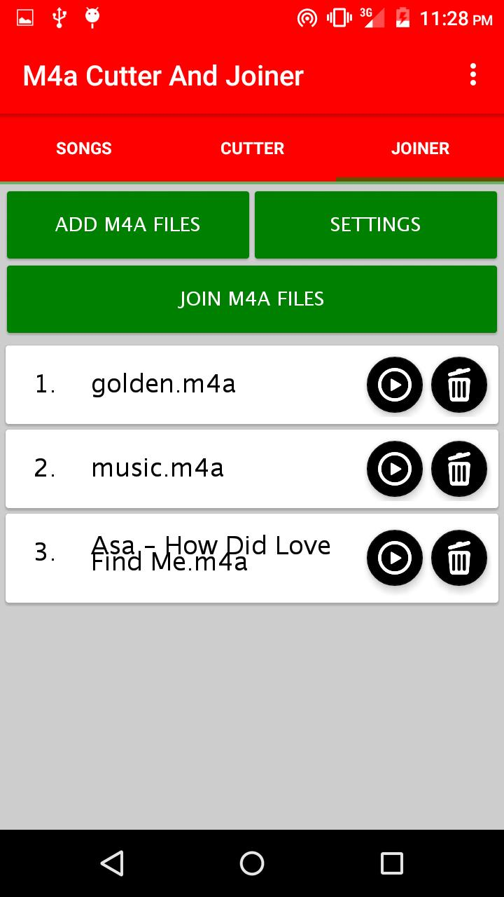 M4a Cutter And Joiner for Android - APK Download