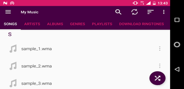 WMA player for android