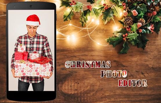 Christmas Photo Editor-Xmas Photo Frames, Effects screenshot 3