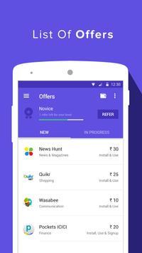 Earn Talktime - Grappr apk screenshot