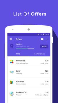 Earn Talktime - Grappr apk screenshot