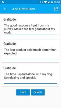 Gratitude - Key to Happiness! apk screenshot