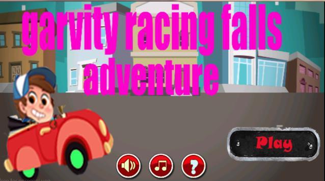 gravity racing falls adventure poster