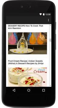 Dessert Recipes screenshot 2