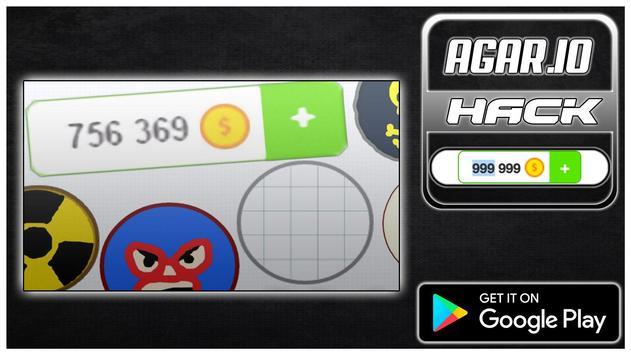 Hack For Agario New Fun App - Joke poster
