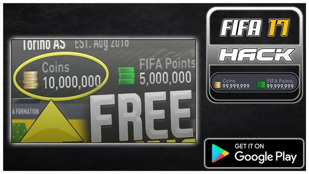 Hack For FIFA 17 New Fun App - Joke poster