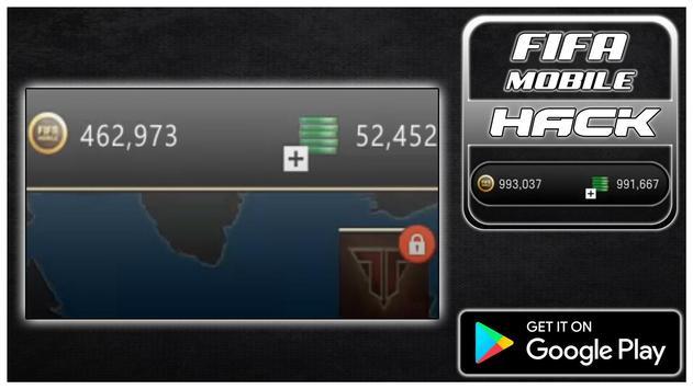 Hack For FIFA Mobile New Fun App - Joke poster