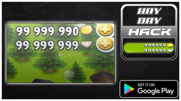 Hack For Hay Day New Fun App - Joke poster