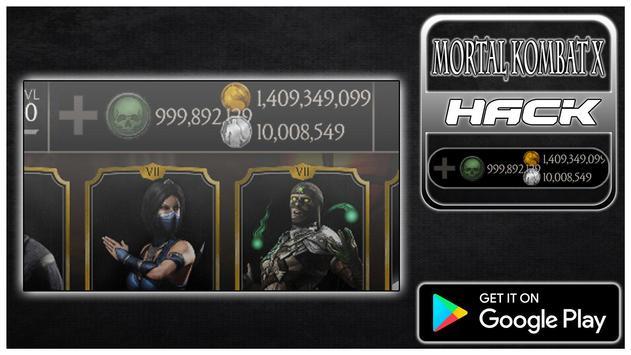 Hack For MORTAL KOMBAT X New Fun App - Joke poster