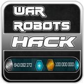 Hack For War Robots New Fun App - Joke icon
