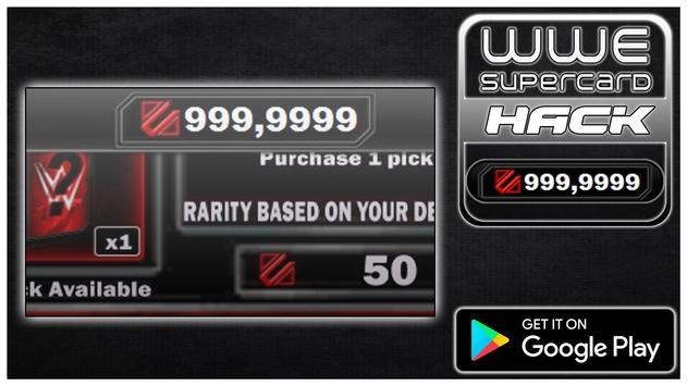 Hack For WWE SuperCard New Fun App - Joke poster
