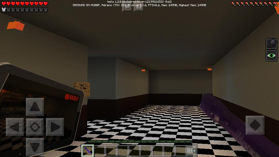 Maps Five Nights at Freddy's FNAF for Minecraft PE for