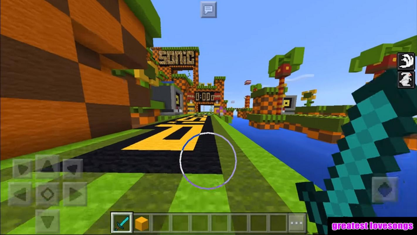 Map Sonic The Hedgehog For Minecraft PE Für Android APK Herunterladen - Kostenlose maps fur minecraft pe