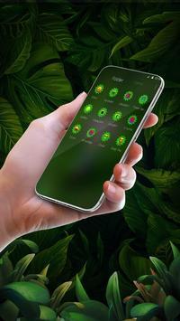 Green Owl Forest Theme screenshot 2
