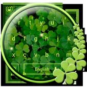 Green Leaf Keyboard Theme icon