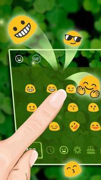 Green Leaf Keyboard Theme apk screenshot