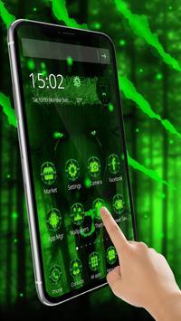 3d Green Neon Bear screenshot 1