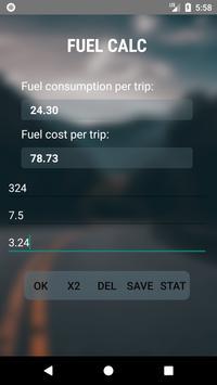 Fuel Calc poster