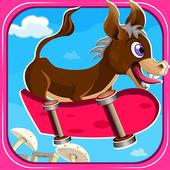Donkey Skater - level based icon