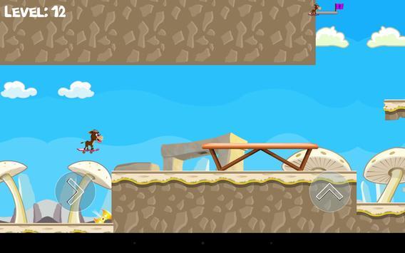 Donkey Skater - level based screenshot 7