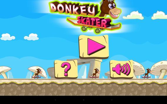 Donkey Skater - level based screenshot 6