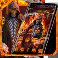 Grim Fire Skull Theme
